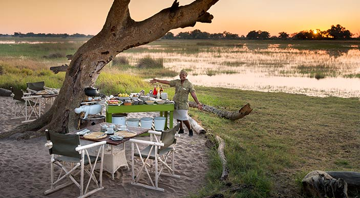Special honeymoon offer for &Beyond Okavango Delta Lodges - Bride pays 50% less