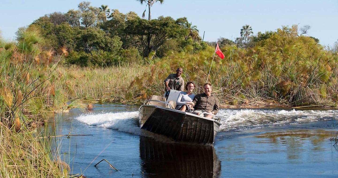 Let Xigera Camp take you on Water Safari in the Okavango Delta
