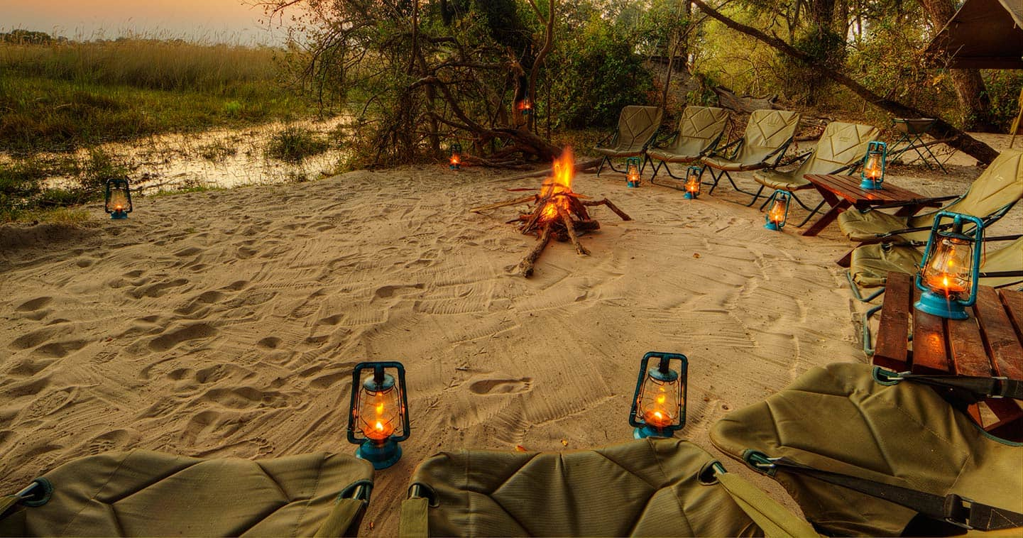 The Boma at Footsteps Across the Delta