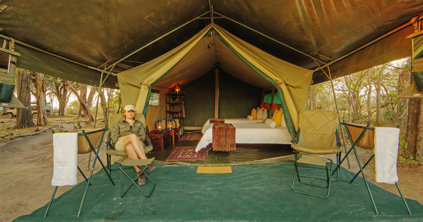 Sleep over in Footsteps Across the Delta for the Ultimate Safari Experience in the Okavango Delta