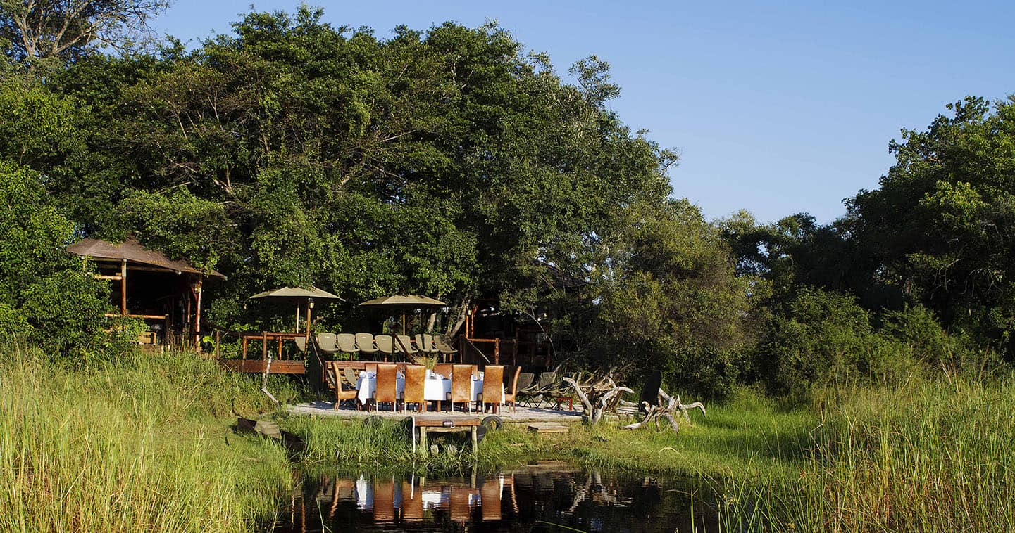 Excellent Dining at Kanana Camp in the Okavango Delta