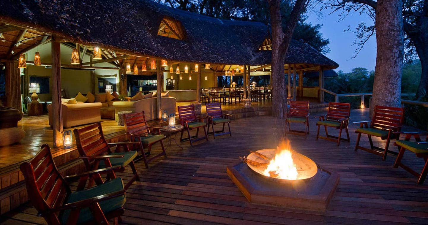 Luxury Lodge Accommodation at Xigera Camp in the Okavango Delta