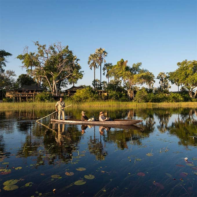 View Wilderness Safari Camps in the Okavango Delta